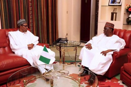 President Buhari Speaks With Gowon, Condoles Him Over The Death of Sister
