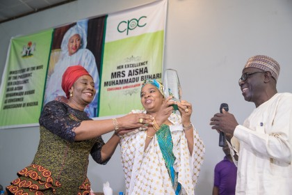 Wife of The President Aisha Buhari Charge Nigerians To Know Their Rights As Consumers