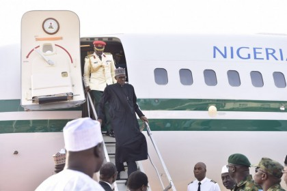 BREAKING: President Muhammadu Buhari Arrives Nigeria From London