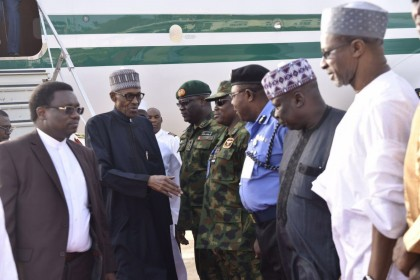 Schedule of President Buhari Last Week After Return From Medical Vacation From London