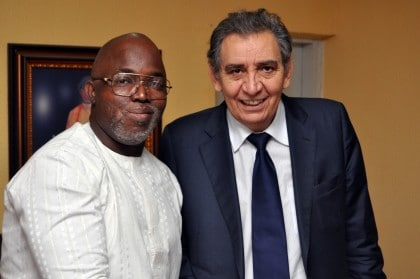 Moroccan ambassador canvasses stronger ties with Nigeria football