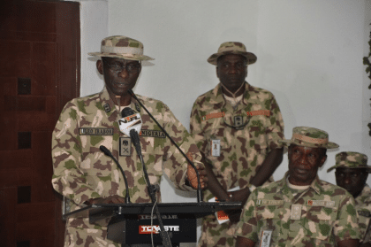 Gen. Irabor's Update On Operation Lafiya Dole In The Entire Northeast