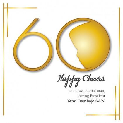 Happy 60th Birthday To Acting President Yemi Osinbajo