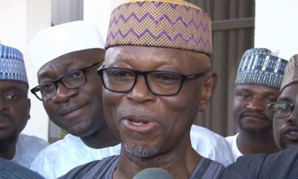 Chief John Oyegun, The National Chairman of the All Progressives Congress