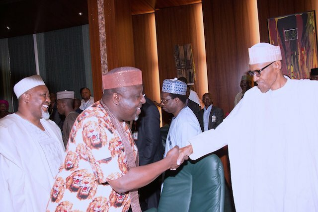 Buhari Apologises to Governors For Barring London Visits and More