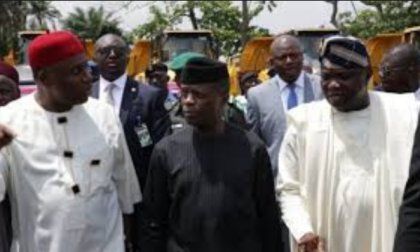 Acting President performs ground breaking ceremony of Lagos-Kano Rail Project
