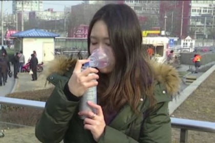 Chinese Firm Makes Fast Money Selling Bottled Air