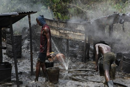 80 Illegal Refineries Destroyed By Operation Delta Safe