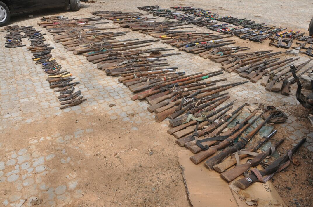 Bandits Surrender Weapons To Troops In Zamfara State