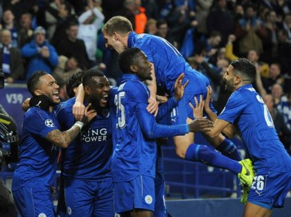 Champions League : Leicester City In The Wave Of Another 'Fairly Tale'