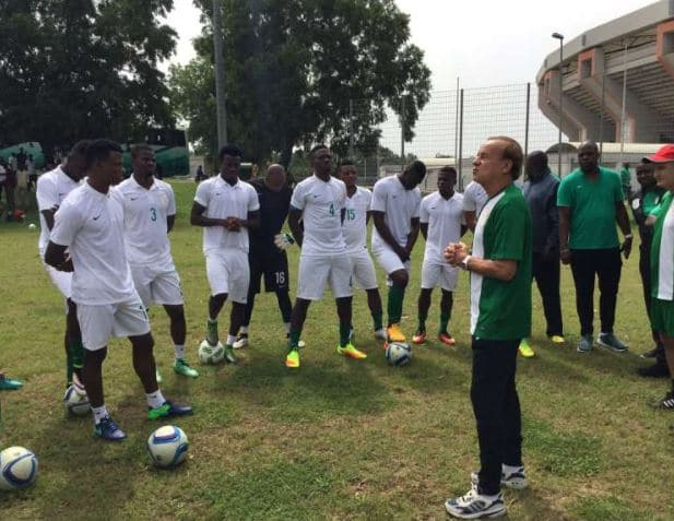 Rohr Names Super Eagles Players For Senegal Burkina Faso Friendlies