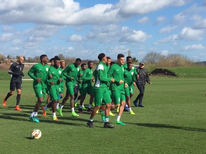 Super Eagles Shaping Up For Friendlies With New Team Members Initiated (Video)
