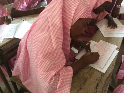 Internally Displaced Persons Writes WAEC Exams In Maiduguri