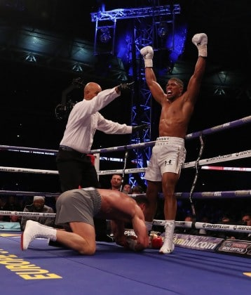 #JoshuaKlitchsko Nigerian-born Anthony Joshua Knocks-out Wladimir Klitschko (Match Report, Profile and History)