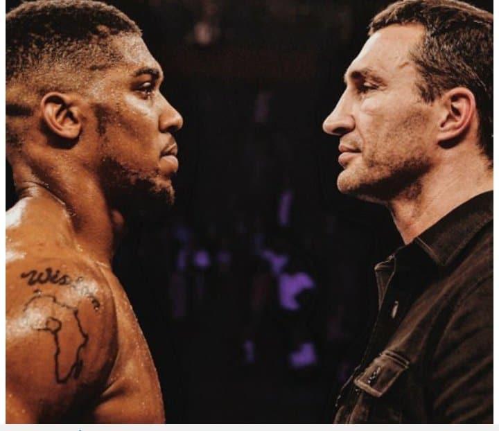 Minutes After Knocking-out Klitschko, Anthony Joshua Wants