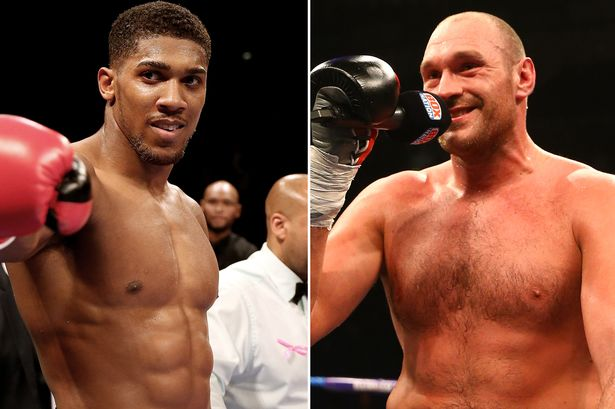 Tyson Fury Accepts Anthony Joshua Challenge