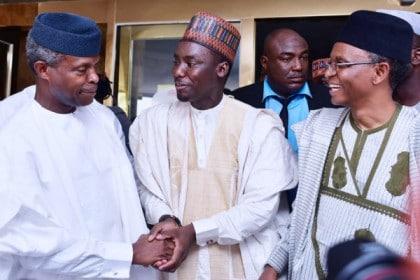 PHOTOS: Vice President Yemi Osinbajo, Governors At Sabiu Yusuf's Wedding