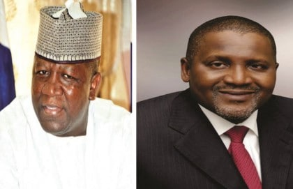 Governor Yari, Dangote Named Malaria Fight Ambassadors