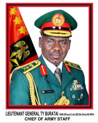 Chief of Army Staff Buratai Warns GOC's To Be on Red Alert