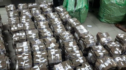 BREAKING: Over N400m Found Hidden in A Plaza in Victoria Island