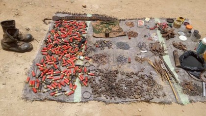 Kunama Stings As Operation Harbin Kunama Yields Desired Results With Large Cache of Arms In Southern Kaduna