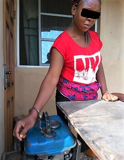 Wife Chained To Generator By Husband From Dusk to Dawn