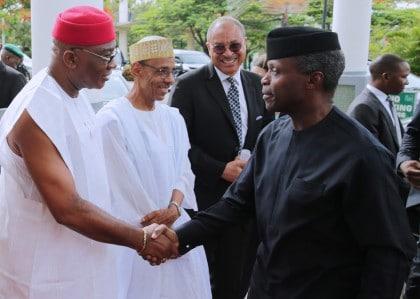 #Biafra50 (Pictures): Acting President Osinbajo Attends Biafra 50 Years Forum