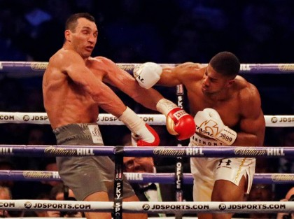SSA To The President On Diaspora Hails Joshua Nigerian Boxer For Defeating Klitschko