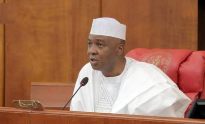 Saraki: Senate to Partner NBA To Ease Passage Of Bills