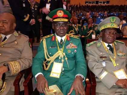 Lt. Gen. Buratai Attends African Land Forces Summit  2017 In Malawi