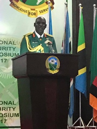 Chief of Army Staff Buratai Speaks At A Symposium In Rwanda