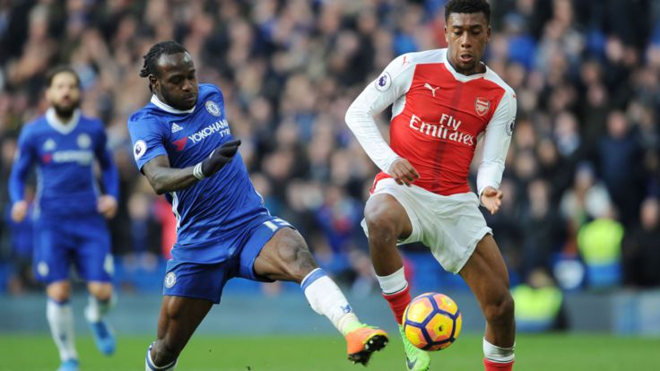 #FACupFinal It's Arsenal vs Chelsea, To Some Nigerian Fans is Moses vs Iwobi