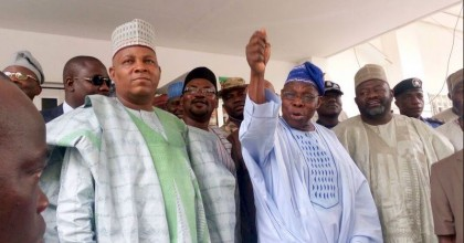 Remarks By Gov. Shettima On Visits and Presentation of Seeds By Obasanjo