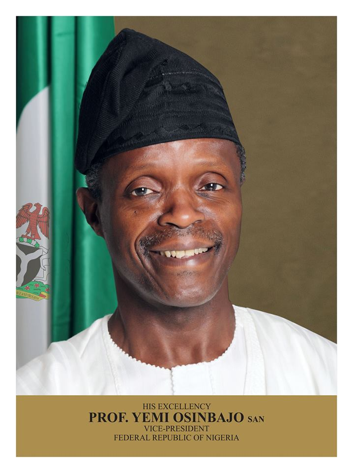 Full Text of VP Osinbajo's Speech At Inauguration of Sustainable Development Goals Council