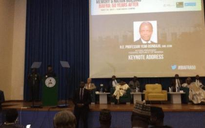 Acting President Osinbajo's Full Speech At Biafra 50 Years Colloquium