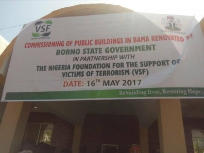 #BamaRebuilt: Victim Support Fund (VSF) Rebuild Schools, LG Sectariat, Shehu's Palace and Other Places In Bama – @NePcni