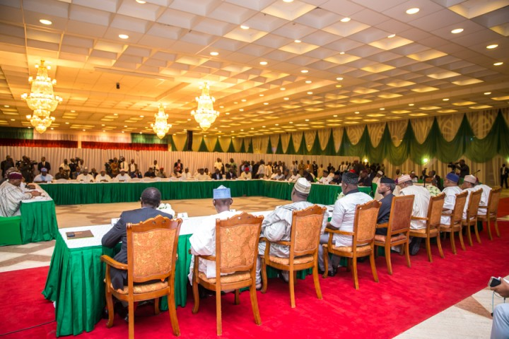 1. Consultation & Iftar with State Governors. 21st June 2017 by Novo Isioro3