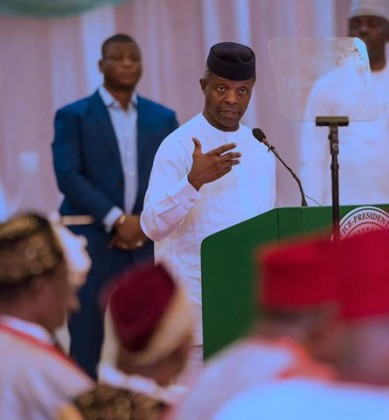 Osinbajo to Churches: Reject Treasury Looters From Thy Midst