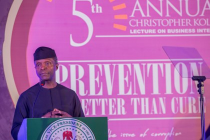 Cost Of Recovering Stolen Funds Is High – Osinbajo