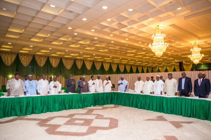 2. Consultation & Iftar with State Governors. 21st June 2017 by Novo Isioro6