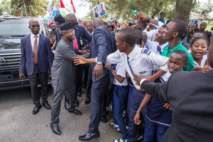6. Ag President Osinbajo visit to Calabar, 1st June 2017 - by Novo Isioro-7