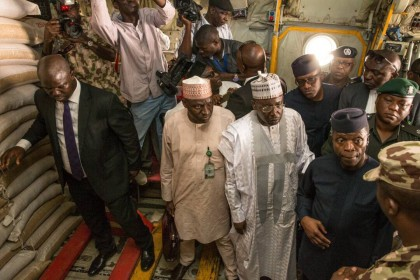 Acting President Osinbajo Unveils New IDP Food Distribution Plan In Maiduguri