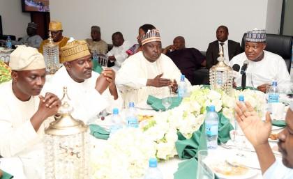 Speaker Dogara Hosts Lawmakers To Ramadan Iftar