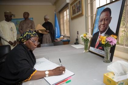 Wife Of The President Describes Osotimehin As A Pillar Of Future Assured