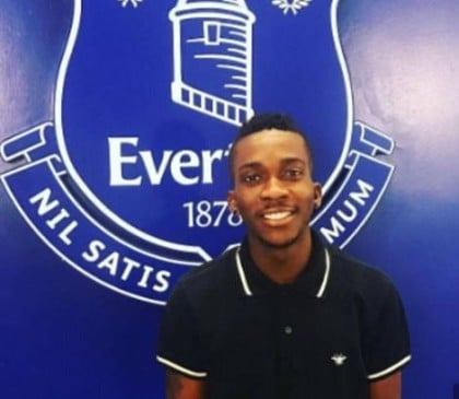 Henry Onyekuru announced his deal with Everton before the club