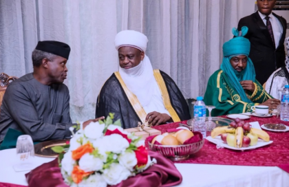 Osinbajo to Meet with Northern Traditional Rulers Today – Akande