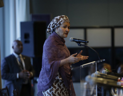 "Amina Mohammed Warns ""AIDS Pandemic Far From Over"""