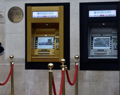 World's First ATM Clocks 50th Years