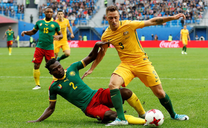 FIFA Confederations Cup: Cameroon, Australia Share Spoils In Saint Petersburg