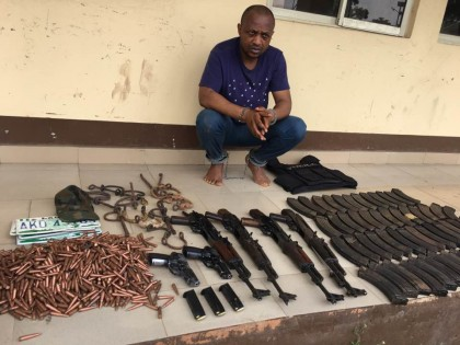 Evans and ammunition found in his possession after his arrest